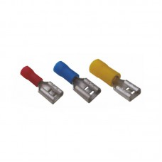 Faston female insulated cable lugs