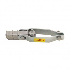 Anchoring clamp for acsr