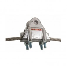Suspension clamp for acsr