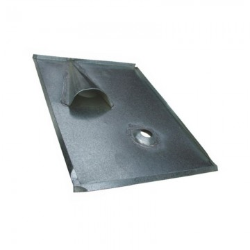 Tin roof tile for household connection